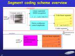 segment coding scheme overview