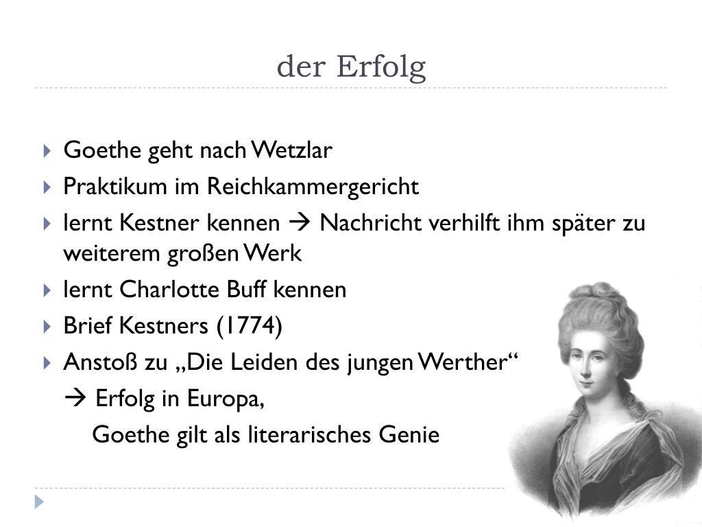 Persönlichkeiten: Johann Wolfgang von Goethe - Persönlichkeiten - Geschichte - Planet Wissen