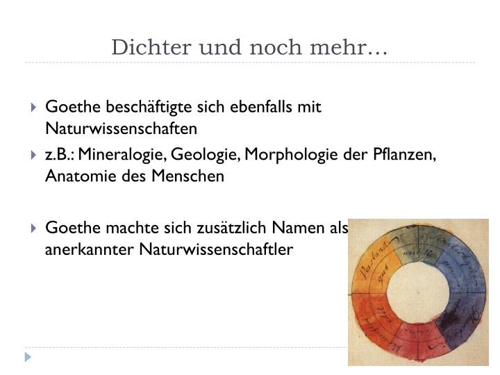 PPT - Johann Wolfgang von Goethe PowerPoint Presentation - ID:1811565