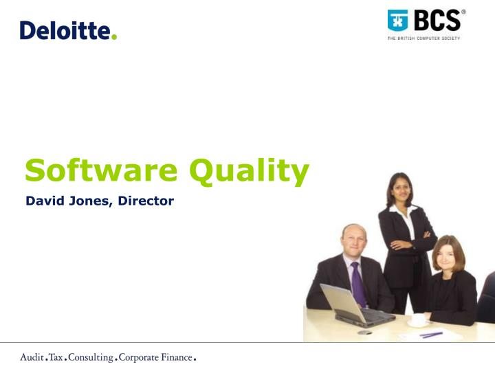 software quality n.