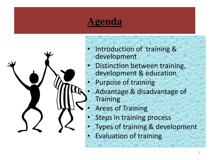 training and development advantages and disadvantages