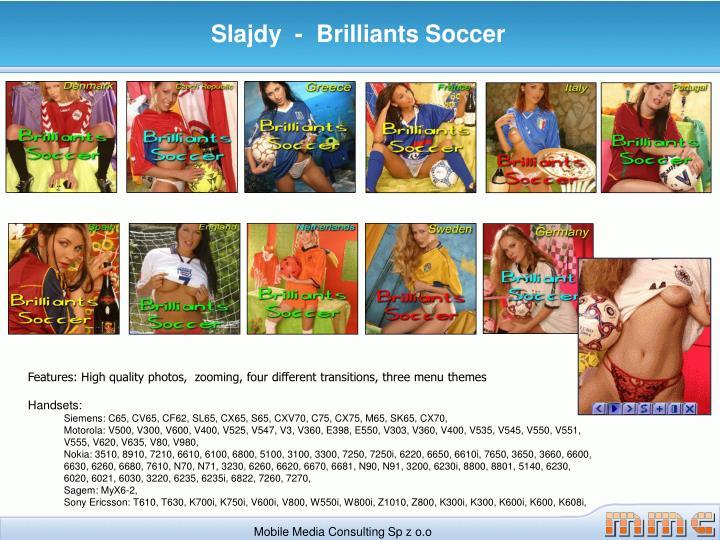 Slajdy  -  Brilliants Soccer
