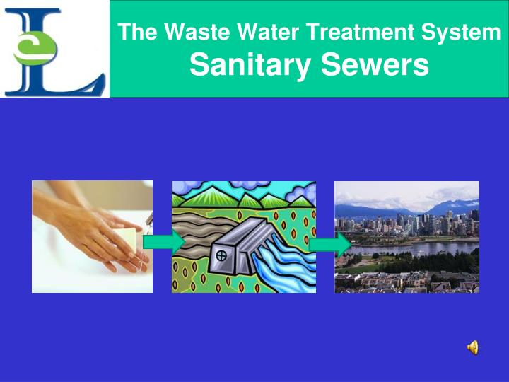 The waste water treatment system sanitary sewers