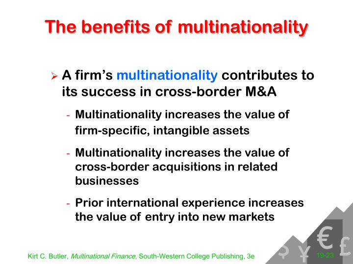 The benefits of multinationality