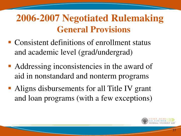 Consistent definitions of enrollment status and academic level (grad/undergrad)