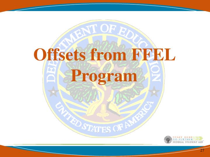 Offsets from FFEL Program
