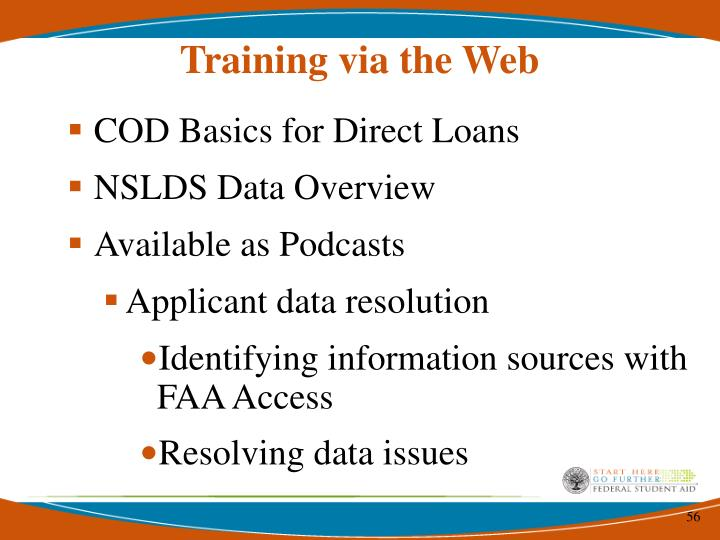 Training via the Web