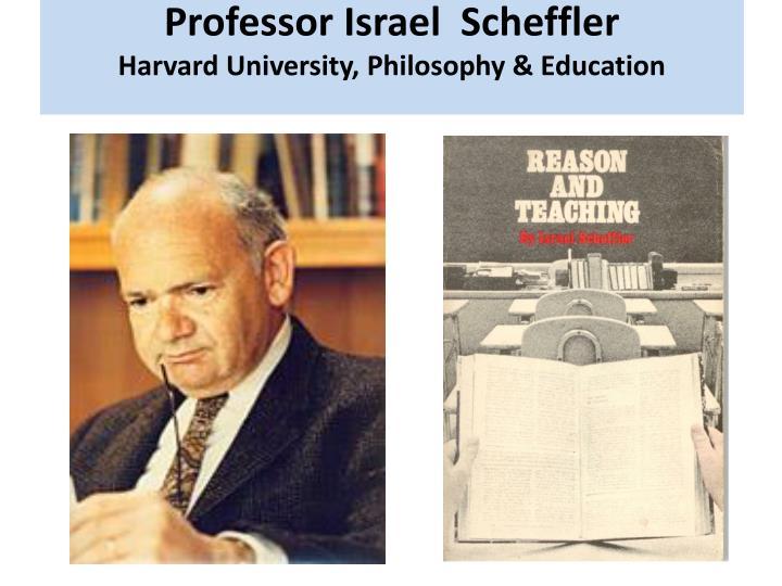 Professor Israel