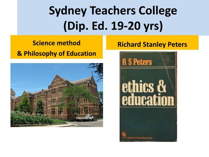 Sydney Teachers College