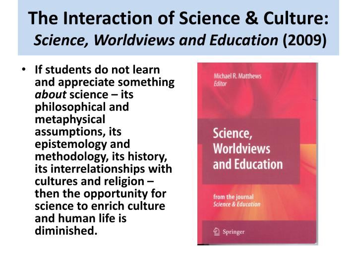 The Interaction of Science