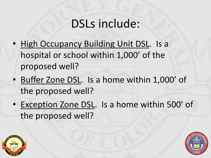 DSLs include: