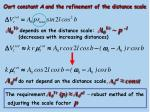 oort constant a and the refinement of the distance scale