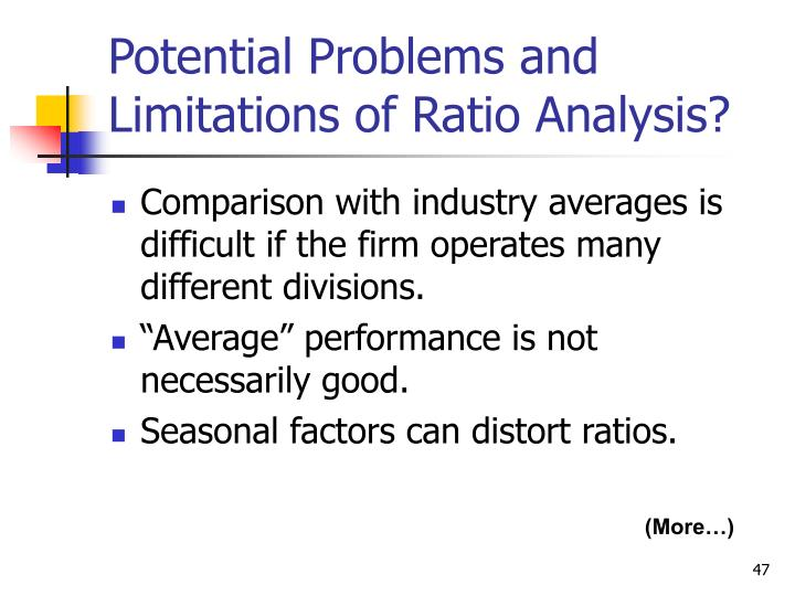 ratio analysis and comparison betwen 4 cement Ratio analysis can be very helpful when the values are compared against previous years, other companies, industry averages these comparisons help analyst to identify company's strengths and weaknesses and evaluate its financial position and also foresee the risks that may emerge in the.