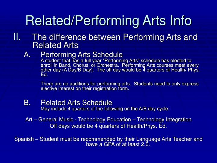Related performing arts info1