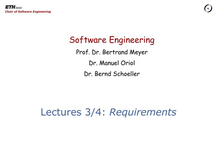 lectures 3 4 requirements n.