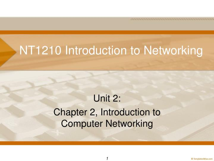 nt1210 introduction to networking n.