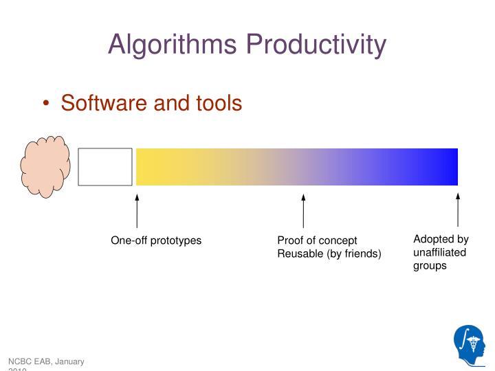 Algorithms productivity1