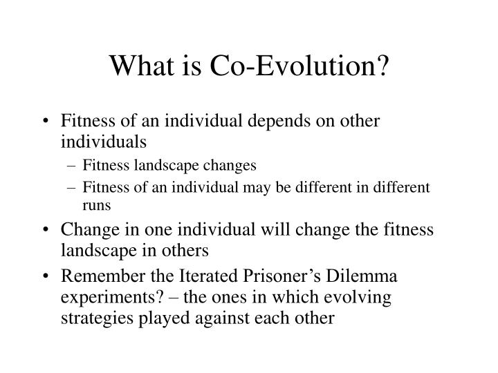 What is Co-Evolution?