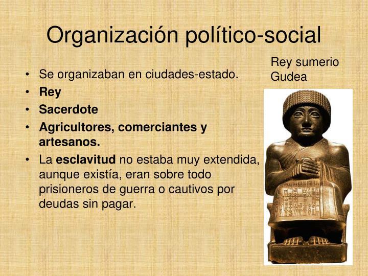 Organización político-social