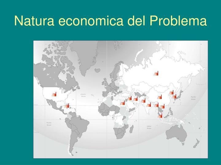 Natura economica del Problema