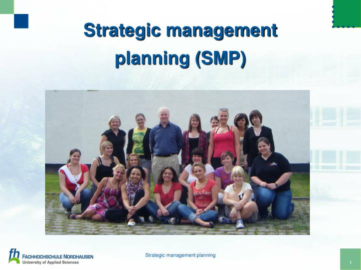 strategic management planning smp n.