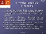 chemical analysis of textiles1