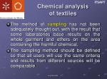 chemical analysis of textiles2
