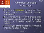 chemical analysis of textiles3