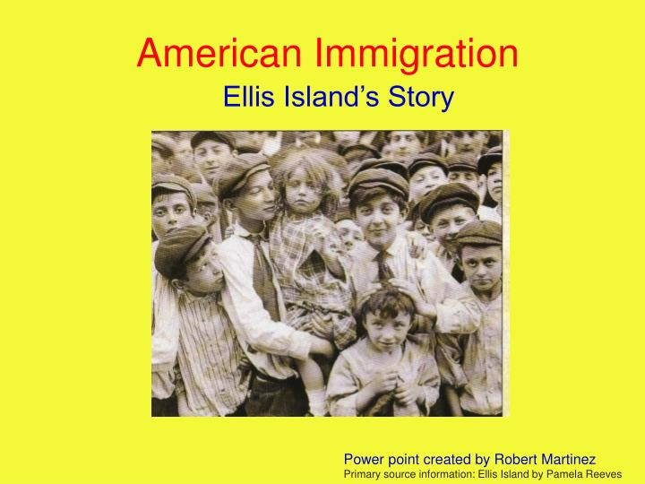 american immigration n.