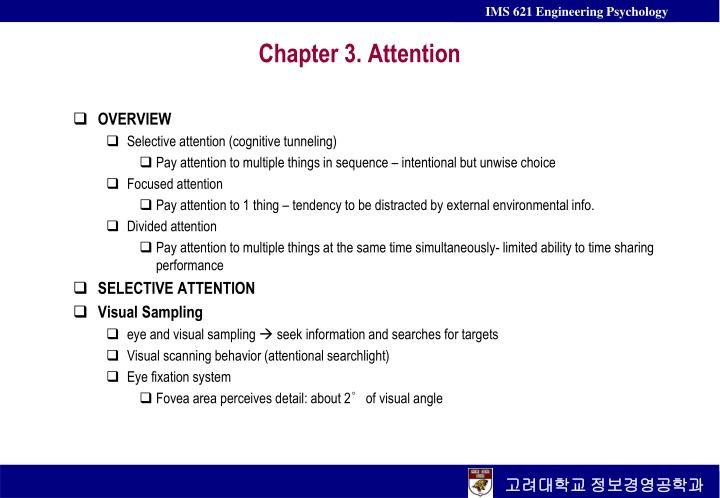 chapter 3 attention n.