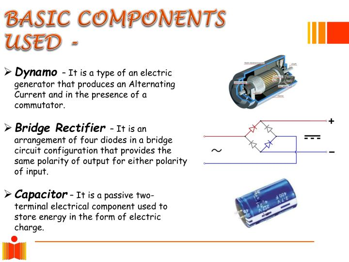 BASIC COMPONENTS USED -