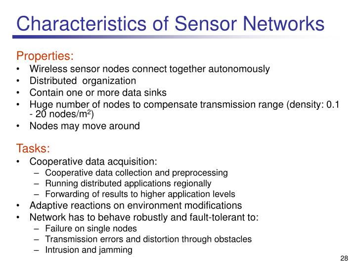 Ppt Wireless Sensor Networks New Challenges In