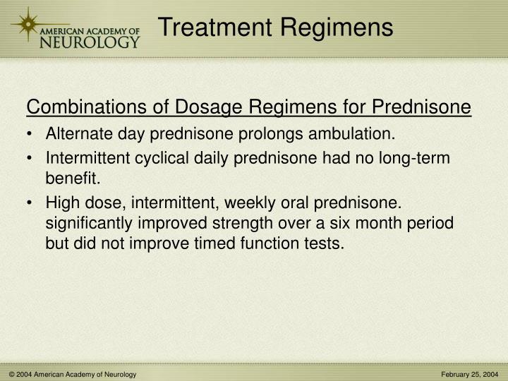 Treatment Regimens
