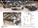 measuring oxygen in the sun genesis mission results