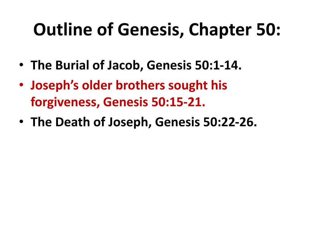genesis 50 15 21