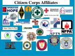 citizen corps affiliates