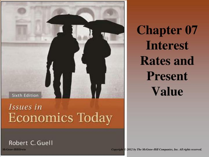 chapter 07 interest rates and present value n.