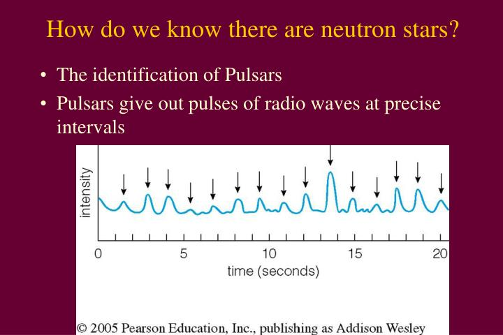 How do we know there are neutron stars?