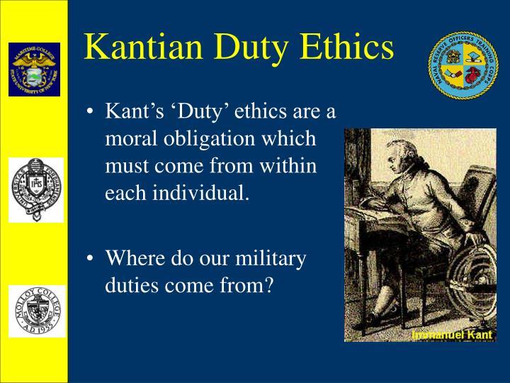 Kantian duty ethics2