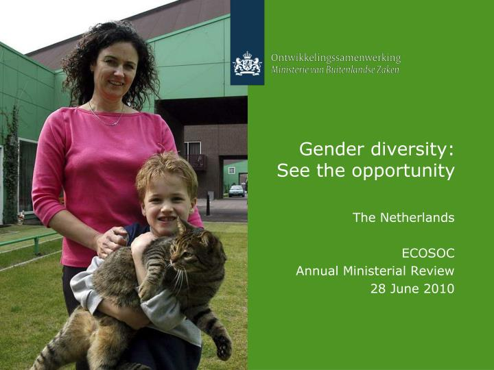 gender diversity see the opportunity n.