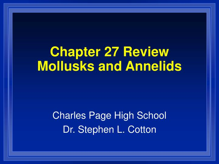 chapter 27 review