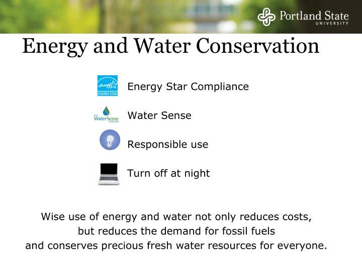 Energy Star Compliance