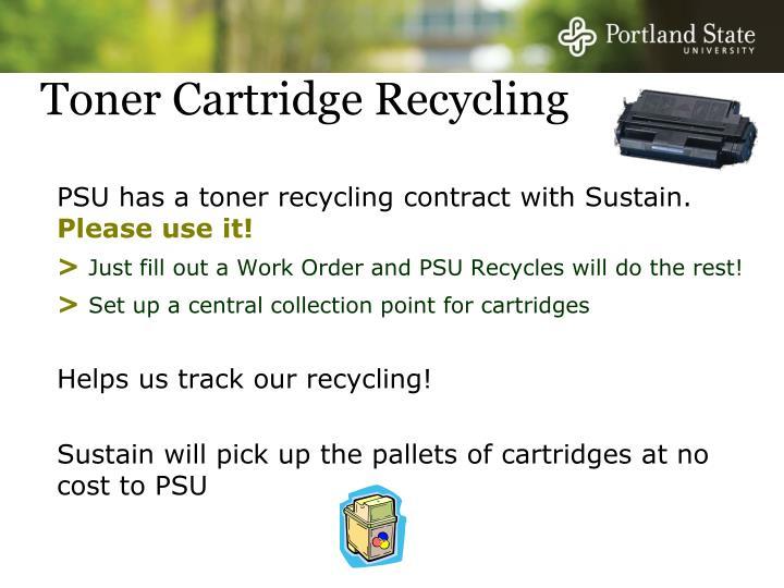 Toner Cartridge Recycling