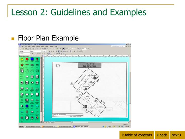 Lesson 2: Guidelines and Examples