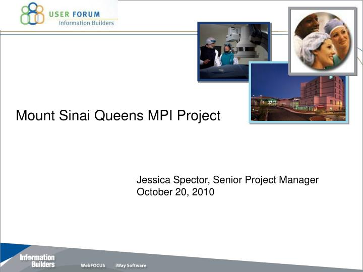 mount sinai queens mpi project n.