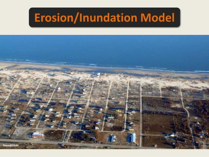 Erosion/Inundation Model