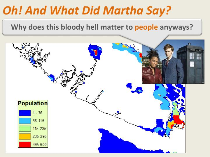 Oh! And What Did Martha Say?