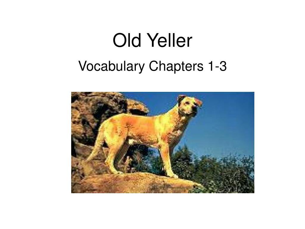 yeller definition