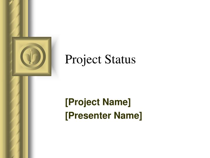project status n.