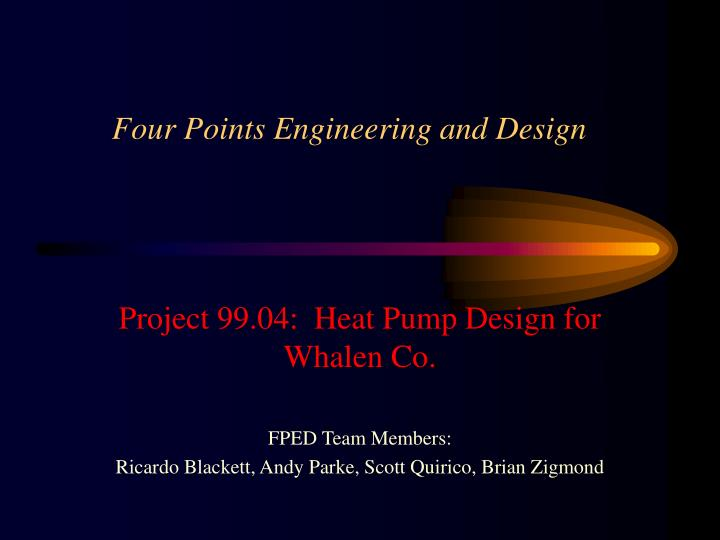 four points engineering and design n.